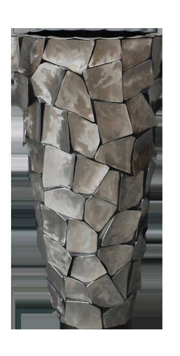 Vaas metallic 60cm